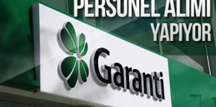 Garanti Bankası Gişe Asistanı Bankacılık Personel Alımı