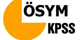 KPSS ÖABT giriş yerleri açıklandı
