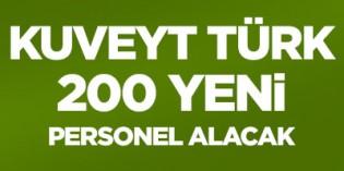 Kuveyt Türk 200 bankacılık personel alımı yapacak